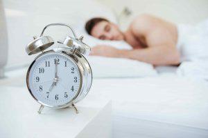 Getting adequate rest